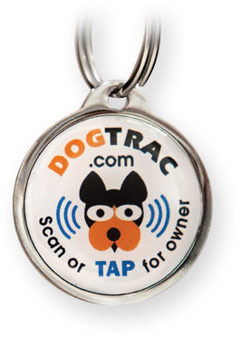 DogTrac Dog Tag